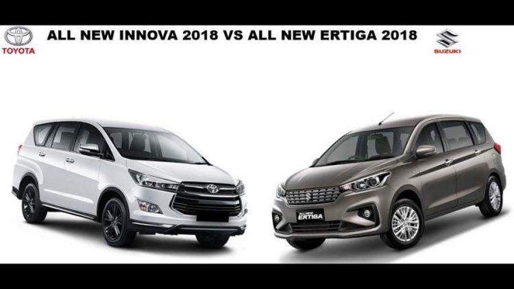 Maruti Suzuki Ertiga vs Toyota Innova