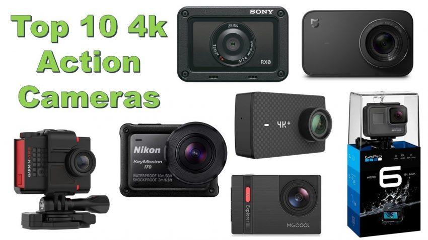 4k action camera