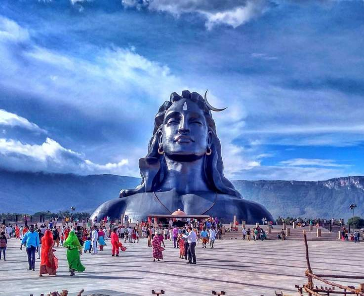 112 ft. Tall Lord Shiva Statue