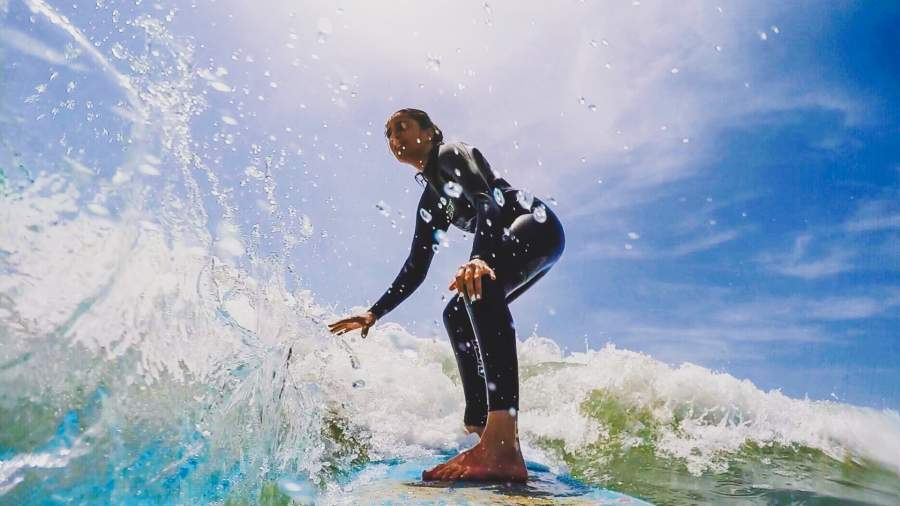 Surfing on Morocco's Southwestern Coast