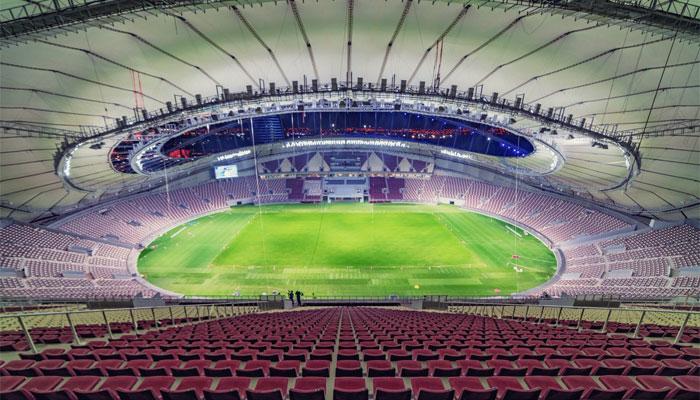 Qatar's Air Conditioned Stadium