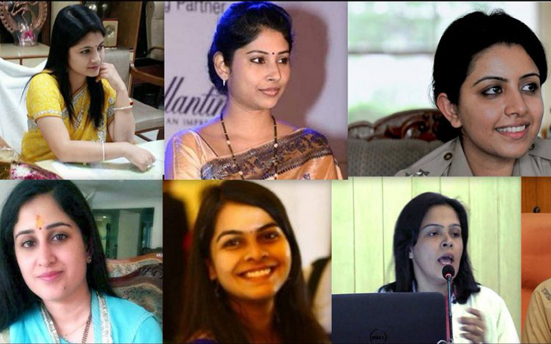 Beautiful and Intellectual Female IAS/IPS Officers