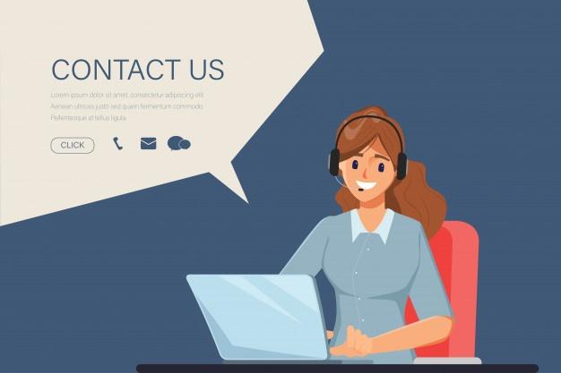 Eye-Catching Call Center Website