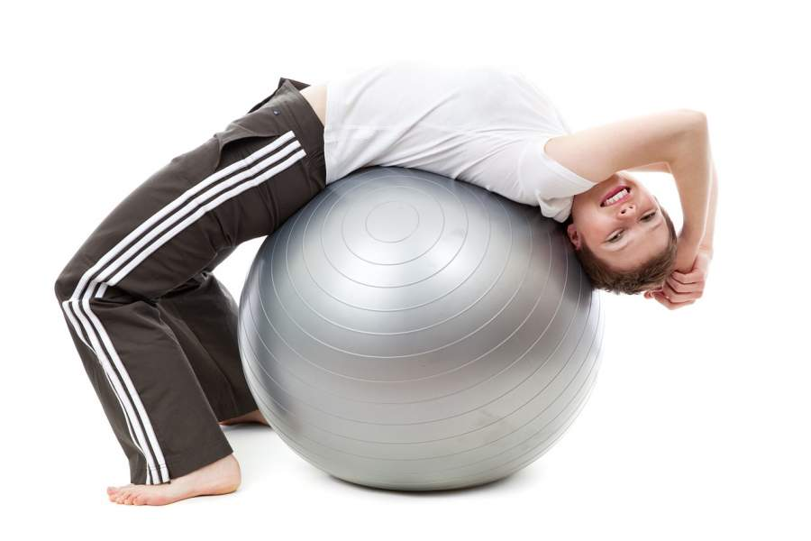 Get in Shape with a Fitness Exercise Ball