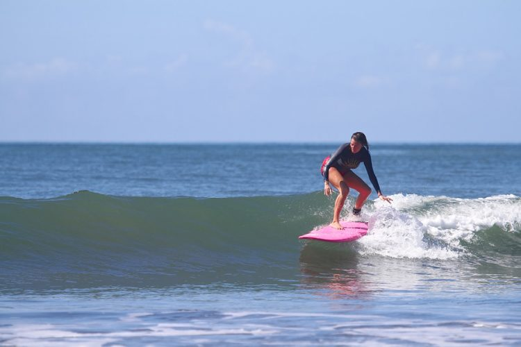 surfing in Panama