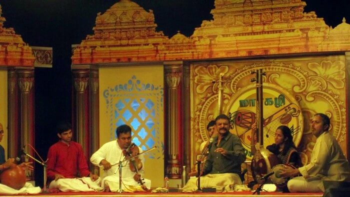 December Music Celebration - Commemorating finest South Indian songs