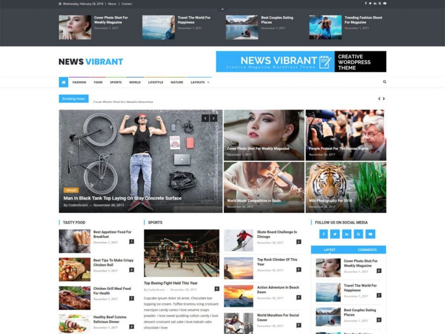WordPress Theme SEO optimized