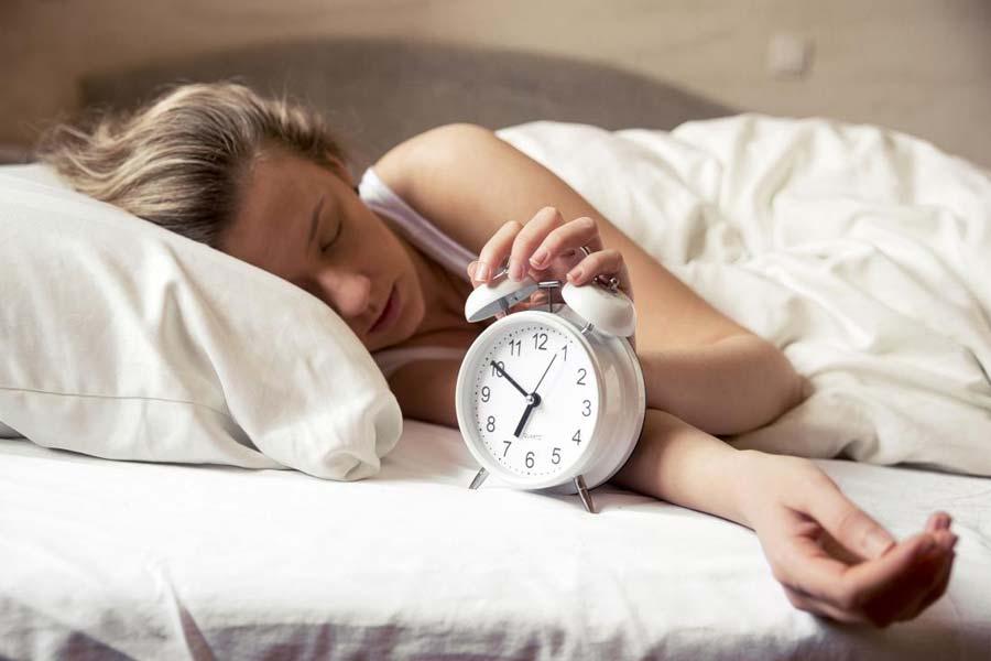 Poor sleep habits