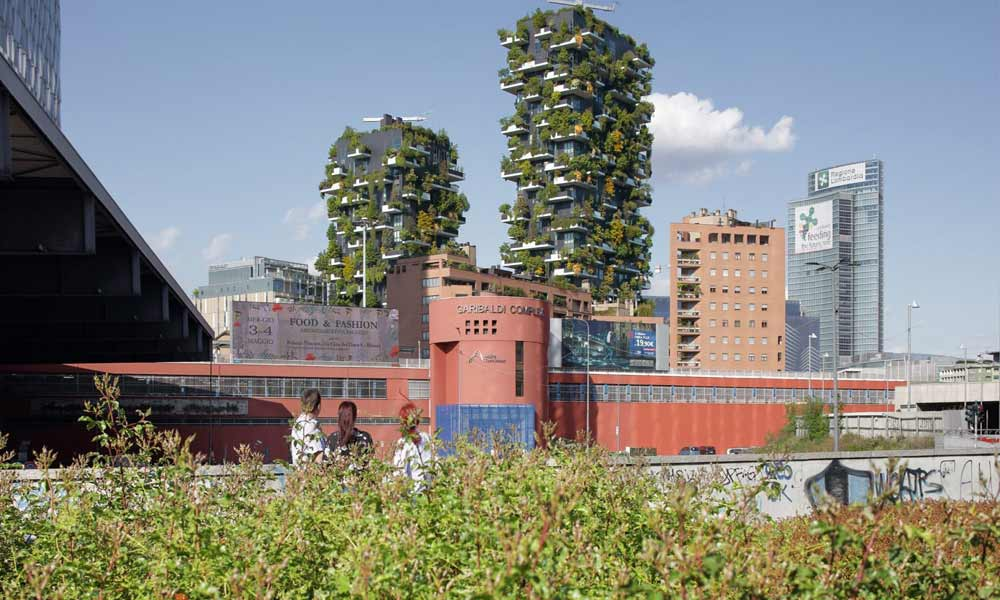 Vertical Forests by Stefano Boeri, Italian architect