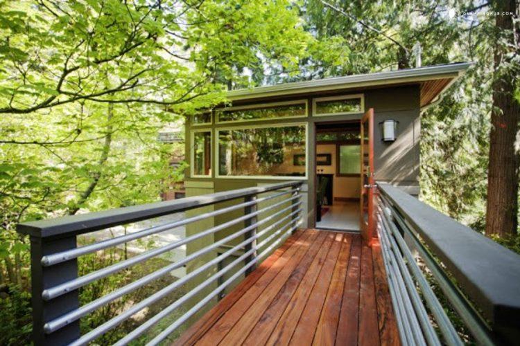 Modern Luxury Elevated Cabin, Washington