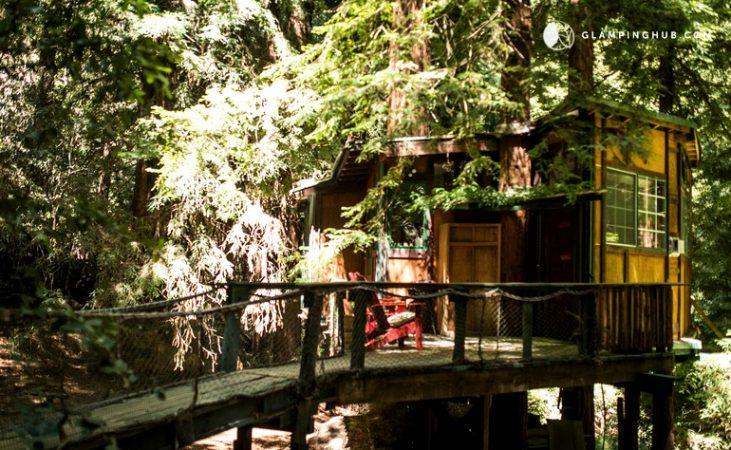 Glamping Treehouse, Watsonville, California