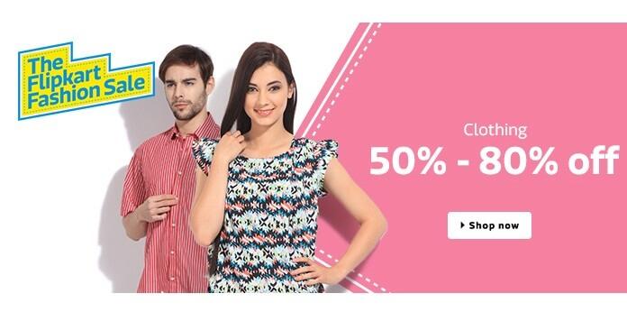 Fashion Sale On Flipkart