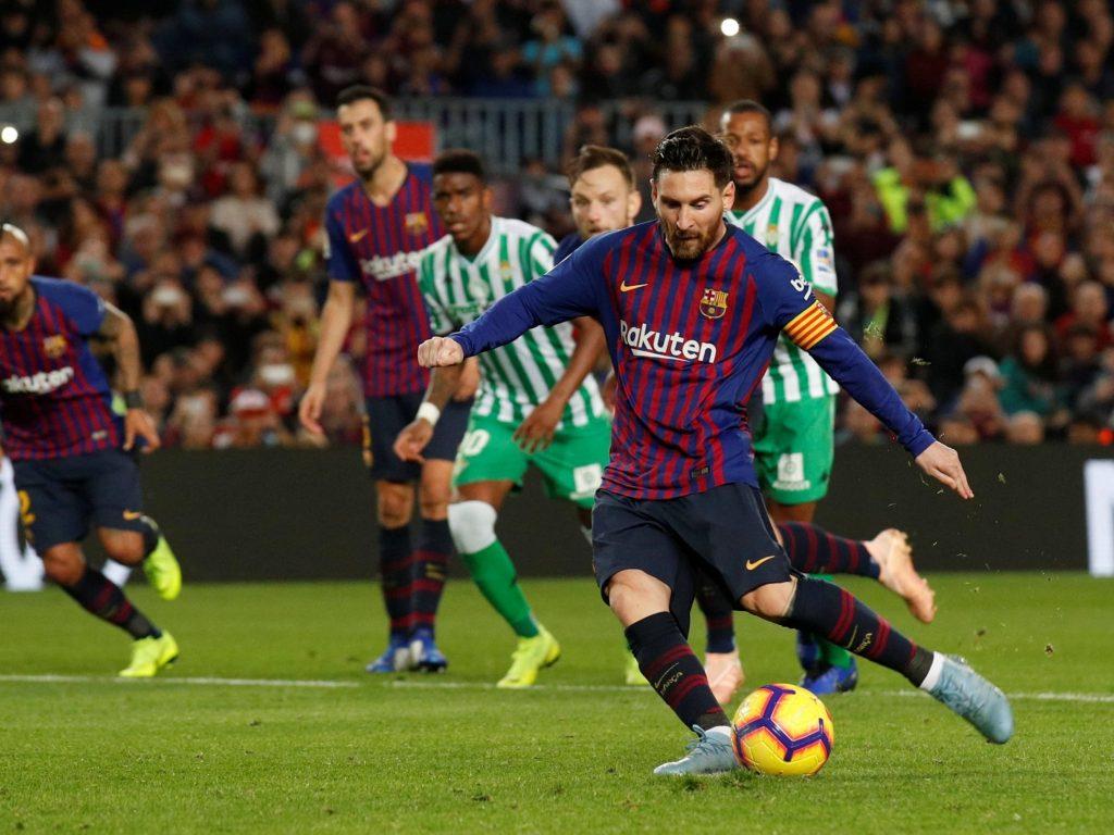 Barcelona football team
