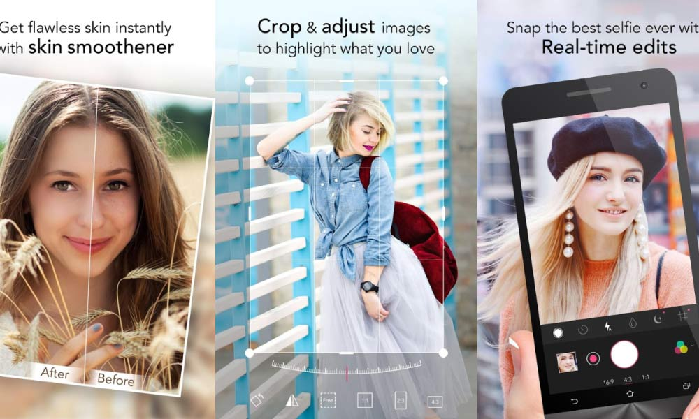 8 Camera Apps That You Can Download To Get That Perfect Selfies Every Time