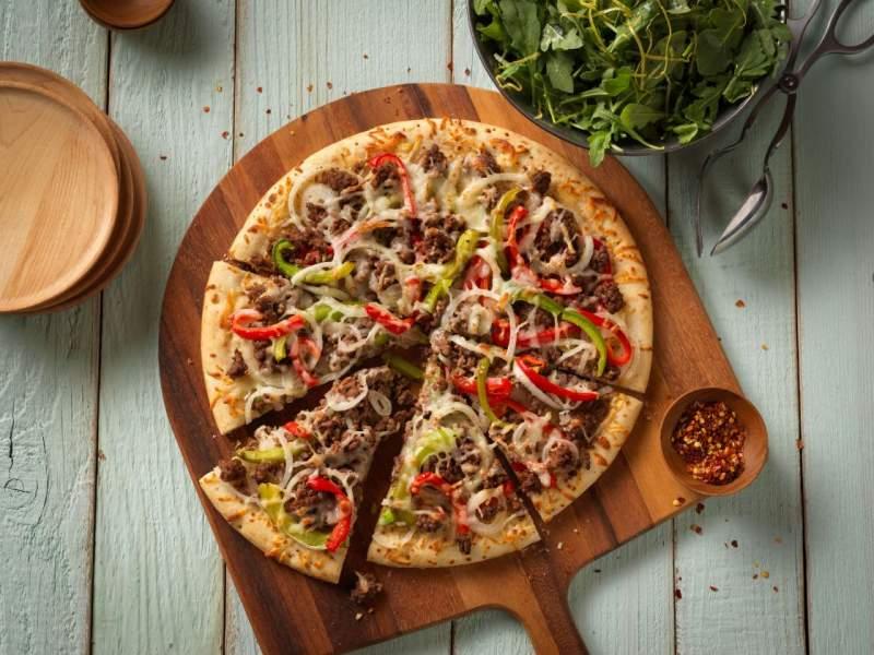 5 pepper pizza