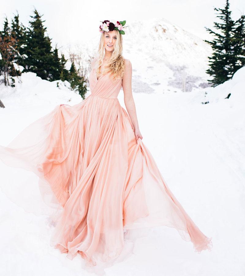 Wintery Pink