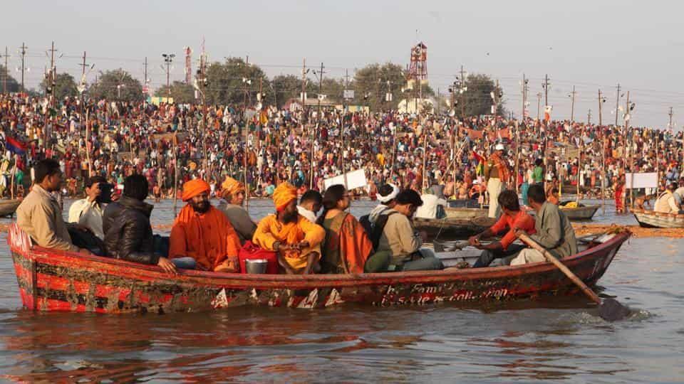 Waterways in Kumbh