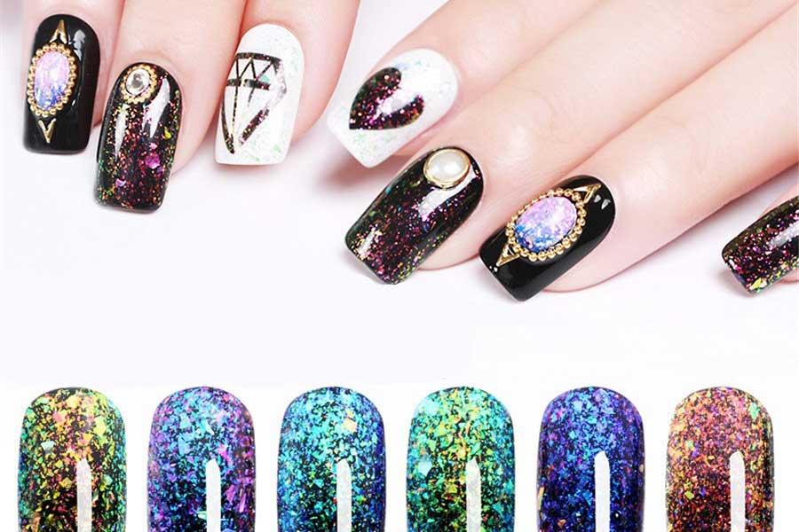 The Magic of Glitter Nails