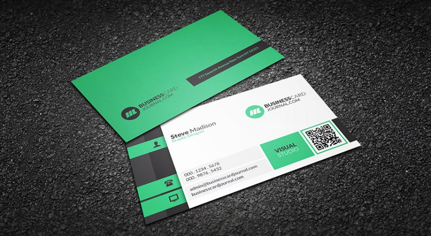 Business Card In 2018