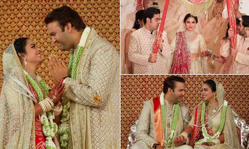 The Star Studded Wedding of Real Life Princess - Isha Ambani & Anand Piramal