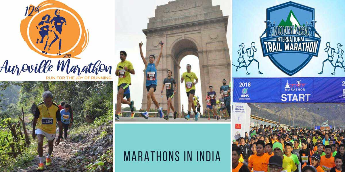 The Top 5 Marathons in India: to Detox You