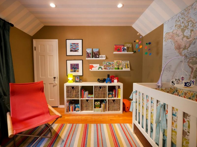Brown paint color for kids room