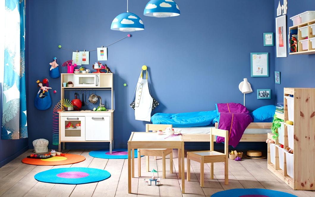 Blue paint for kids room