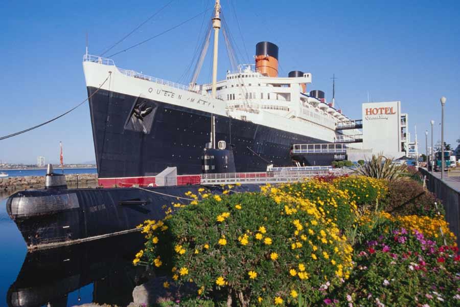 The Queen Mary Hotel, Long Beach, California