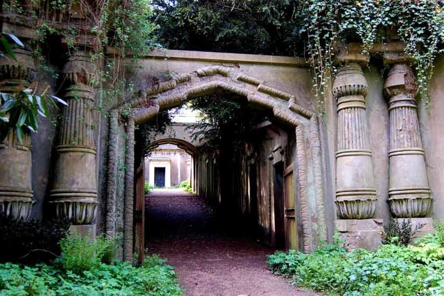 Highgate Cemetery London, England