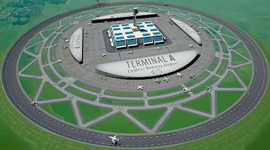 Circular Runway, a Futuristic Idea