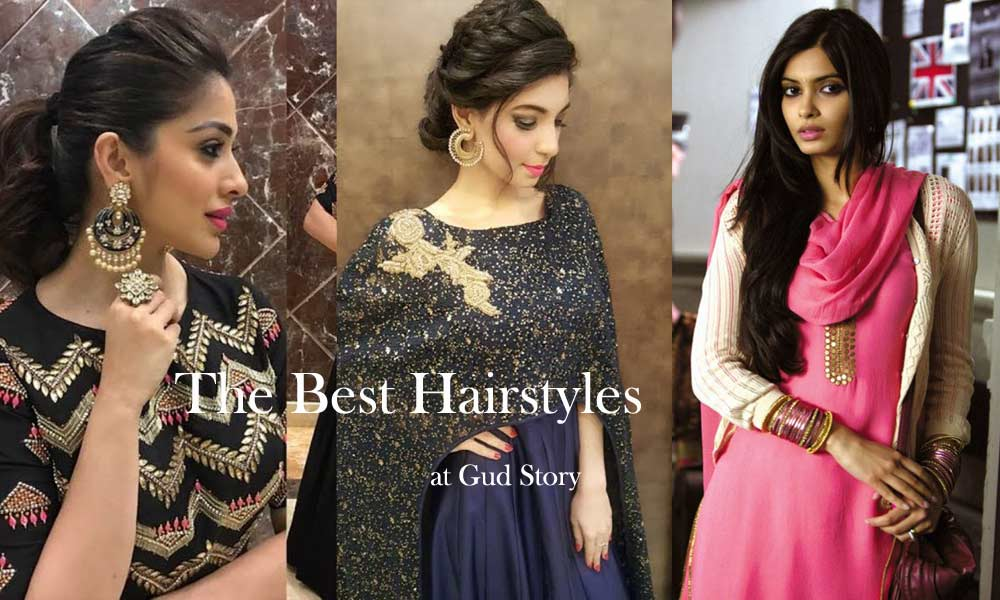 The Best Hairstyles Which Go Along Every Indian Attire