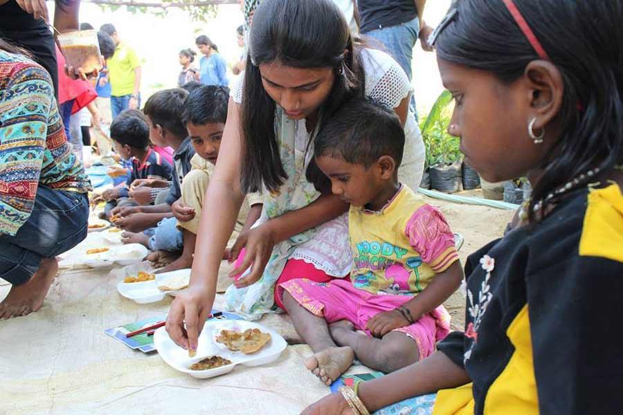 20 Crore Indians sleep hungry every night