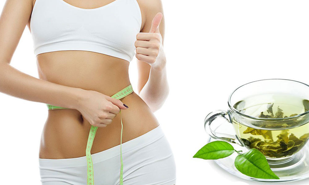 Green tea is known for weight loss