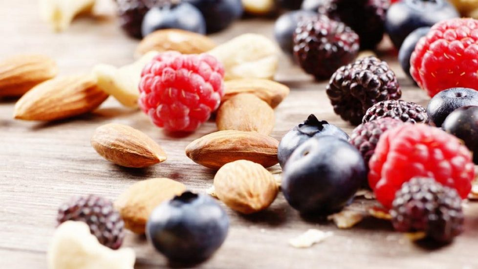 Add Berries and Nuts to Diet