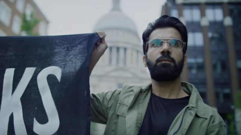 Rajkummar Rao in movie Olmert