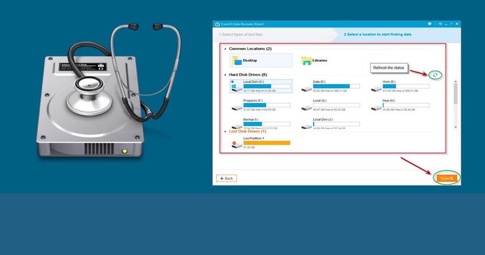 Files Retrieval Using Data Recovery Software
