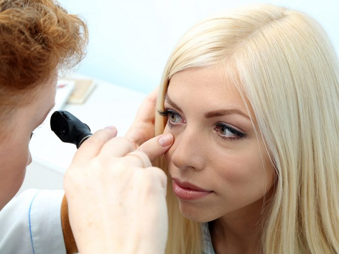 Your cornea may be inflamed