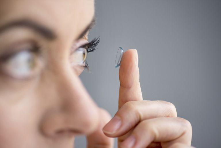 If you have dry eyes, your contacts will become scratchy