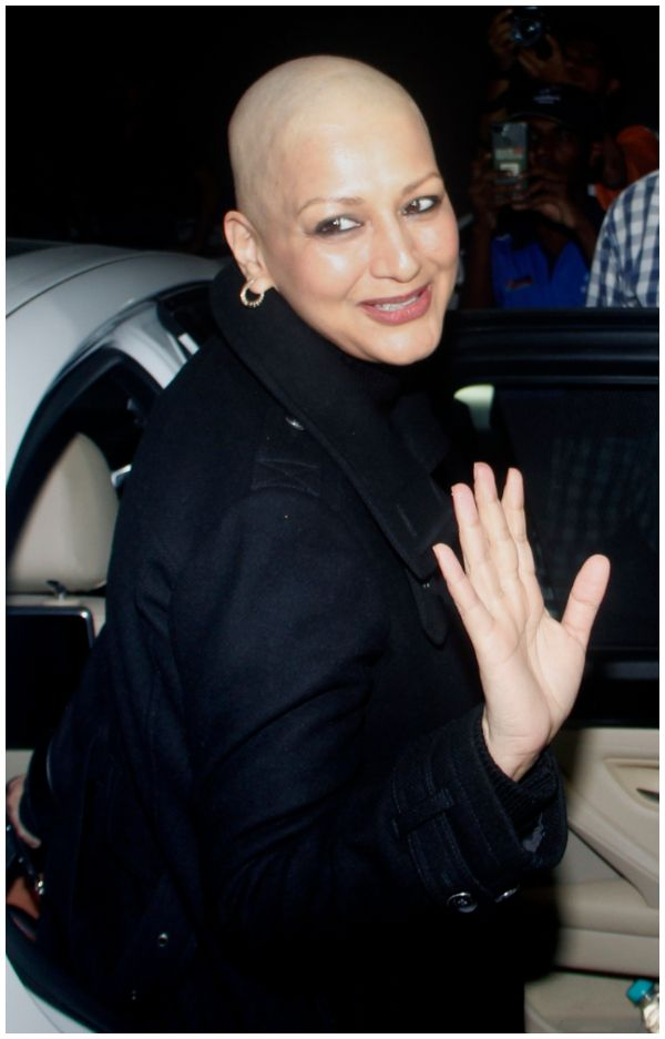 Sonali Bendre Back to India