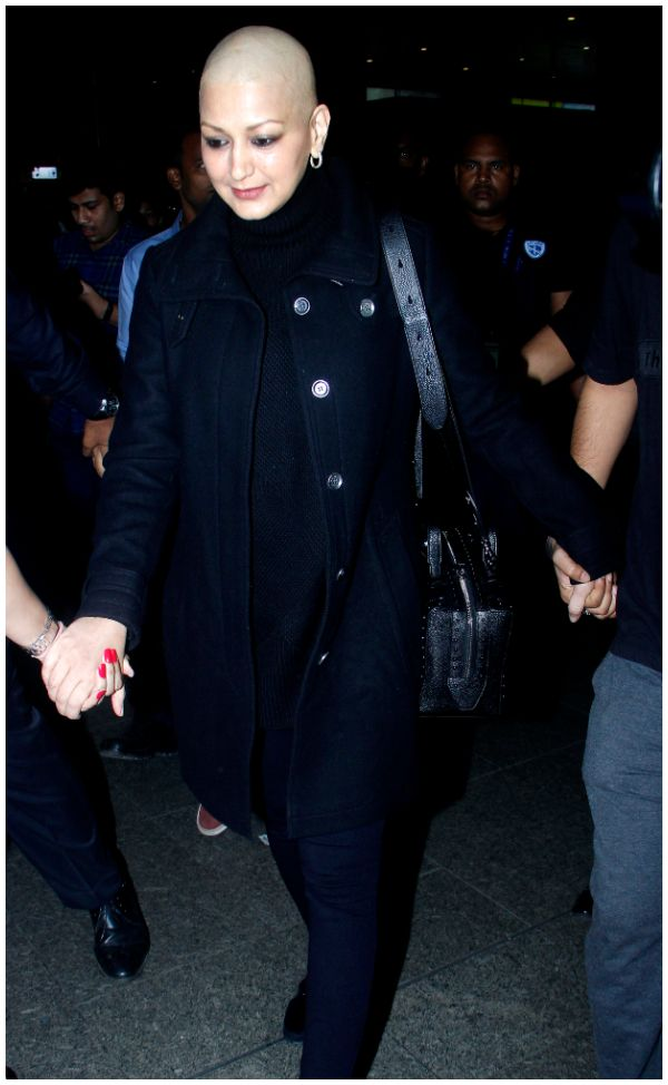 Sonali Bendre Back to Mumbai