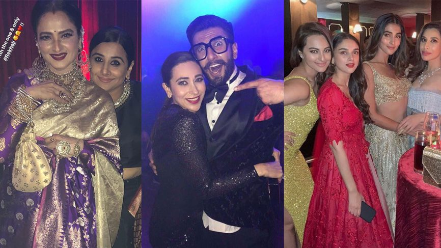 Who Wore What at Ranveer Singh and Deepika Padukone's Reception