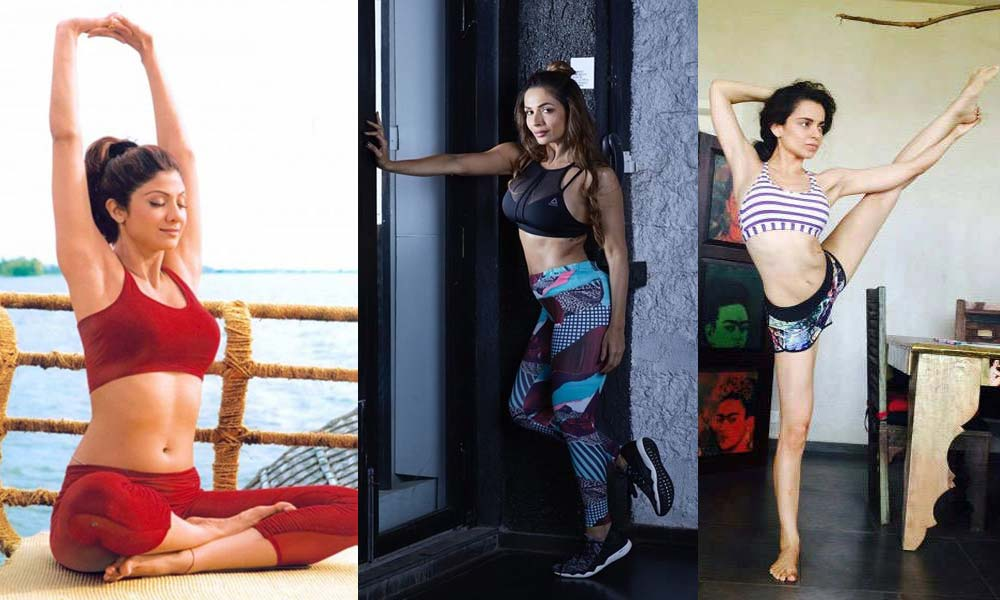 10 Bollywood Actress Who Swear By Yoga To Stay Fit