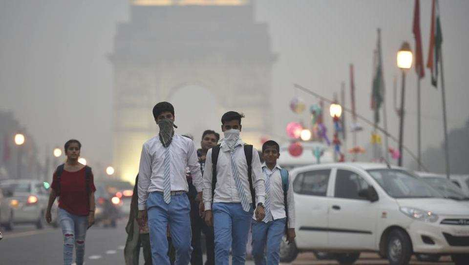 Pollution and climate changes