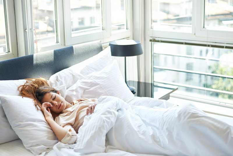 Maintain healthy sleep habit