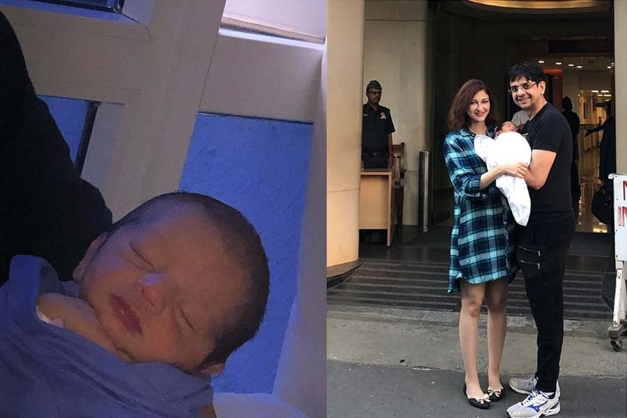 Saumya Tandon Shares First Picture of Her Little Cute Baby Boy