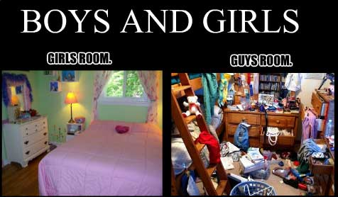 girls room vs boys room