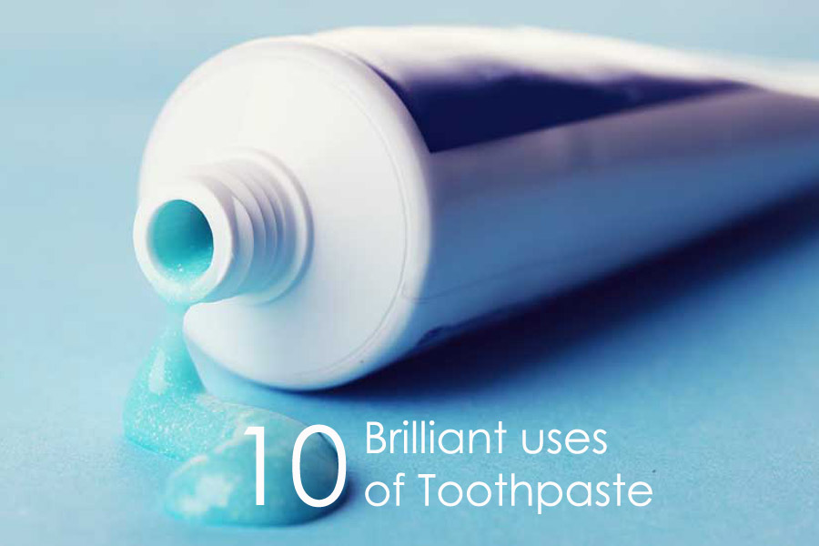10 Brilliant Uses of Toothpaste