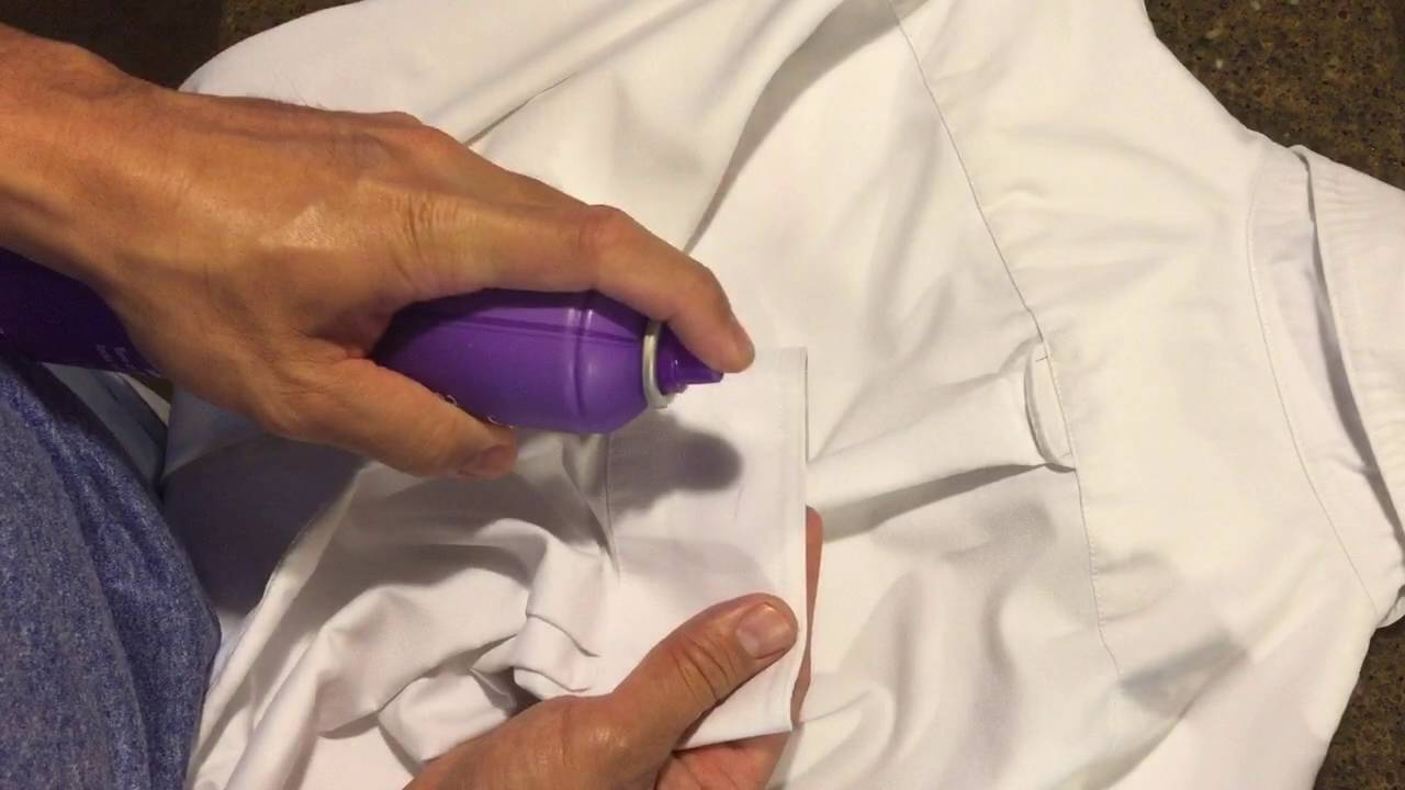 Remove ink stains