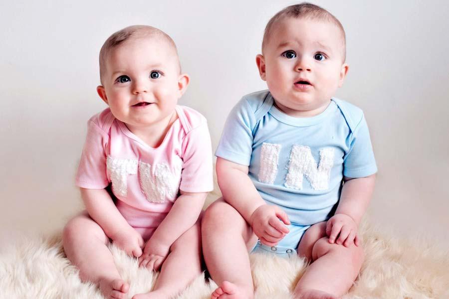 Twins love twin talk