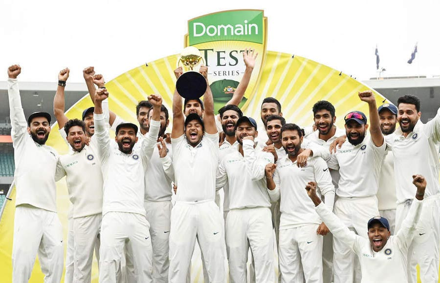 The Historic Win of India vs Australia